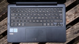 Asus Transformer Book Flip TP200SA top down view