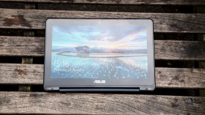 Asus Transformer Book Flip TP200SA in tablet mode