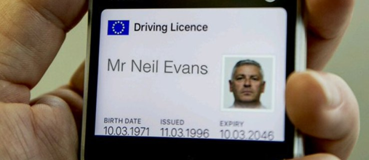 DVLA testing digital driving licences that can be stored on your phone