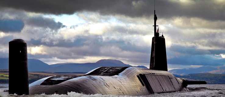 The submarine drones that could depower Trident