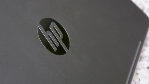 HP EliteBook Folio G1 logo on lid
