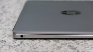HP EliteBook Folio G1 left edge closeup