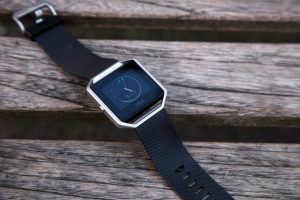 FitBit Blaze top down, angled