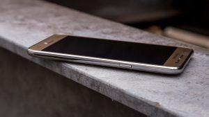 Samsung Galaxy J5 front at an angle