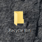 Carpeta de papelera de reciclaje