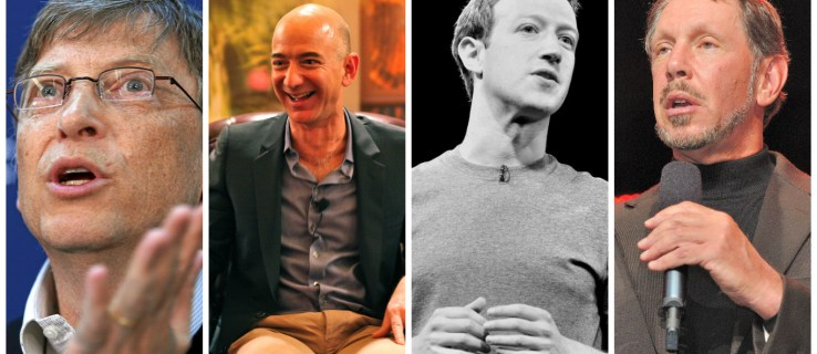 Tech billionaires dominate the 2016 Forbes rich list