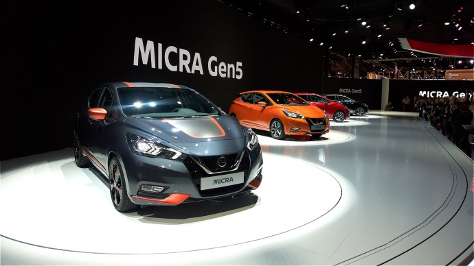 The new 2017 Nissan Micra shows how far car tech has come