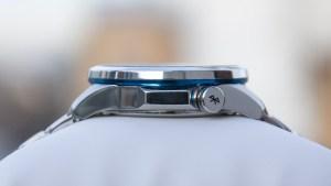 Casio Edifice EQB-600 Bluetooth button