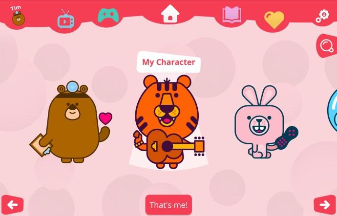 virgin_tv_kids_app_-_character_selection
