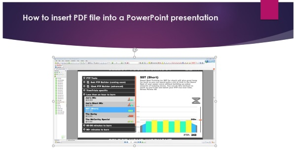 How to insert PDF file into a PowerPoint presentation-2