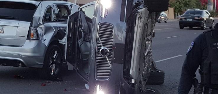 Uber pulls self-driving car fleet following crash in Arizona