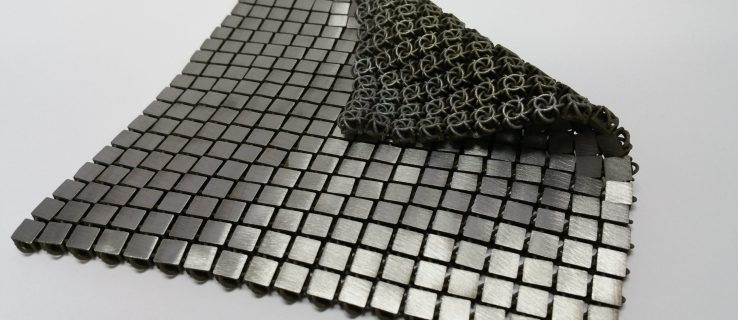 NASA's new material looks like chain mail for astronauts