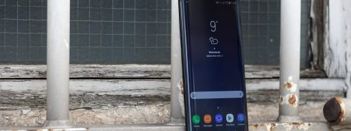 Samsung Galaxy S8 review side