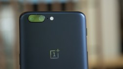 OnePlus 5 logo and camera