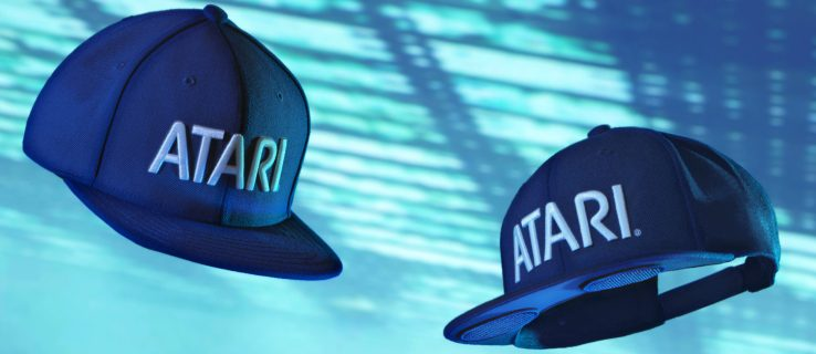 You can now buy a $130 hat with speakers from Atari for some reason