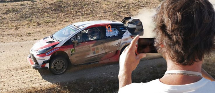 Toyota and Microsoft's EchoCam lets fans take selfies with a WRC rally car