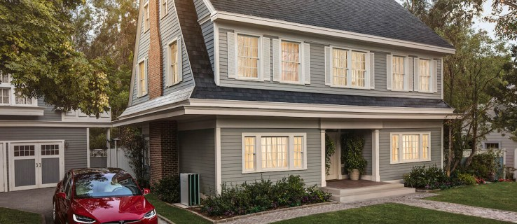 Tesla has started manufacturing its solar roof tiles