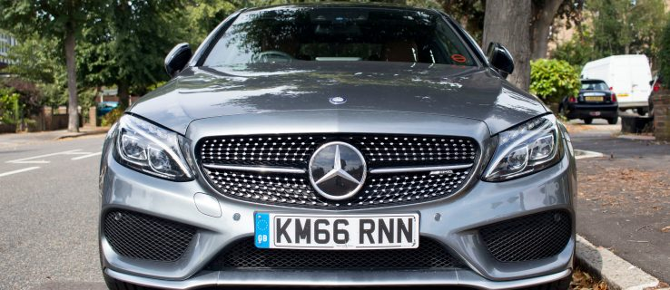 Mercedes C-Class Coupe: An F1 weekend with the C43