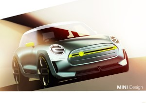 BMW Mini Electric Concept Car