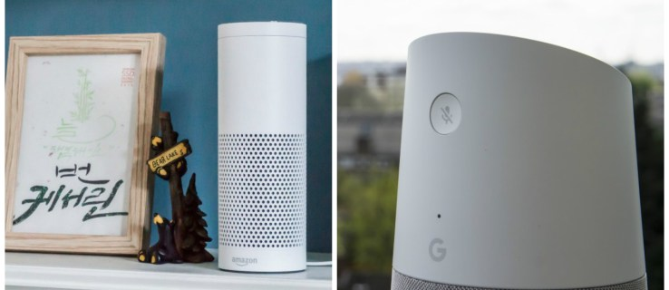 Apple fans favour Echo over Google Home