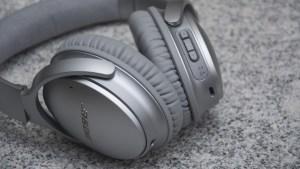 Bose QuietComfort 35 volume control