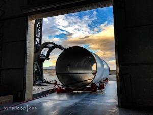 Virgin Hyperloop One test tunnel