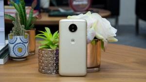 Motorola Moto G5S rear