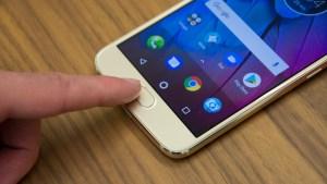 Motorola Moto G5S fingerprint reader
