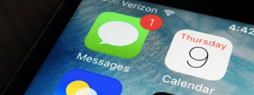 Text bomb iPhone and Mac message bug