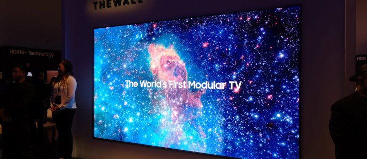 Forget wallpaper, you can now turn your whole wall into a TV with Samsung's 146in giant modular set