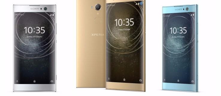 Sony unveils three new smartphones: the Xperia XA2, Xperia XA2 Ultra and Xperia L2