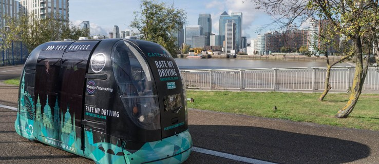 The slow self-driving cars of Greenwich