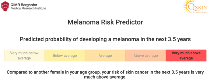 This Online Test Claims To Reveal Your Chances Of Getting Skin Cancer In The Next 3 5 Years
