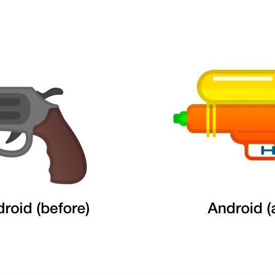 Gun Emoji / First they came for the pistol emoji, and i did not speak out—because i was not a pistol emoji.