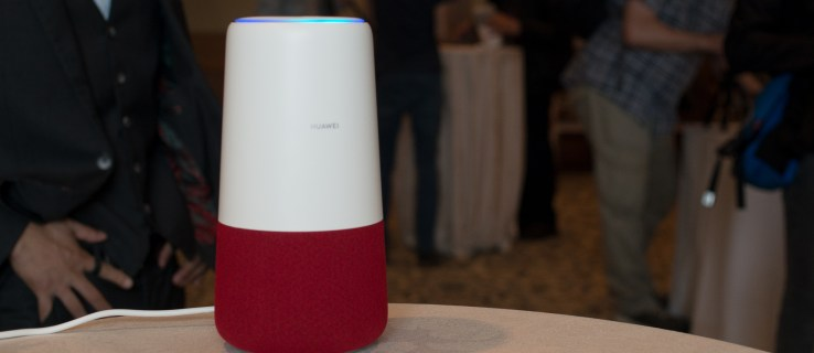 Huawei's AI Cube is an Alexa-powered, 4G portable router
