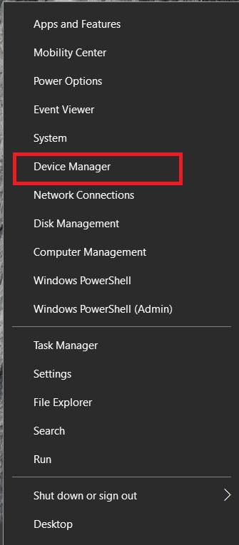 Windows Taskbar menu