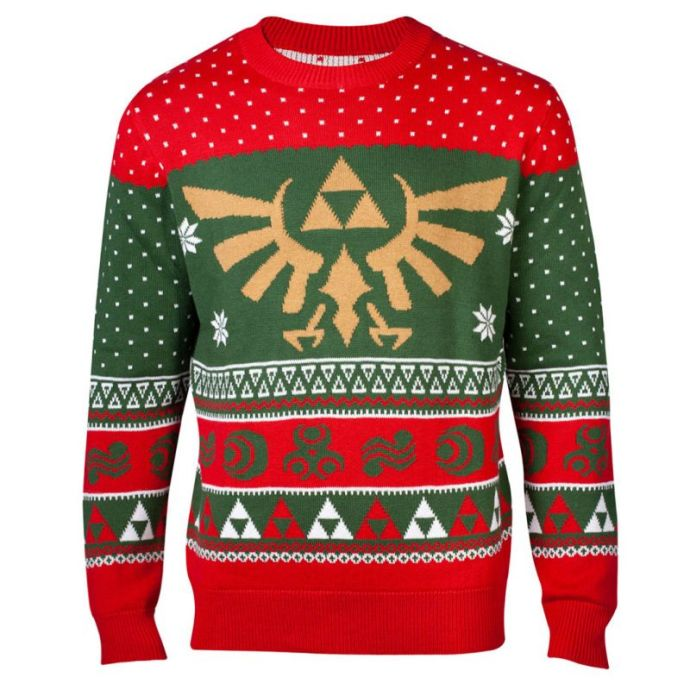 best_geeky_christmas_jumpers_legend_of_zelda