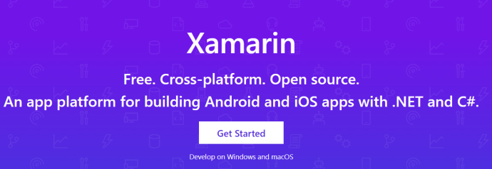 Xamarin Microsoft page