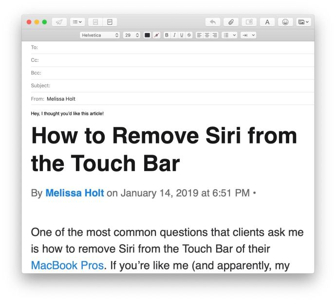 keep formatting paste mac
