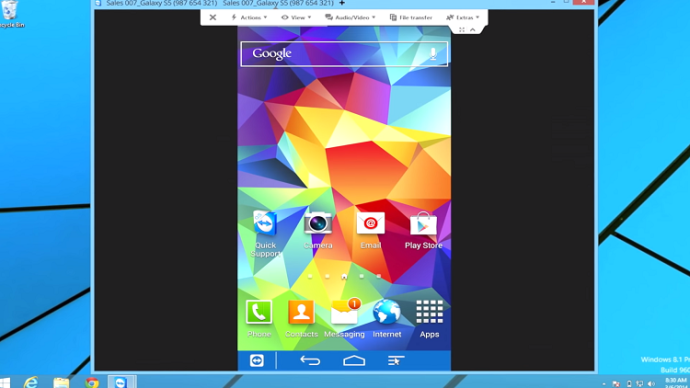 Samsung Galaxy S6 How to Mirror Screen to TV