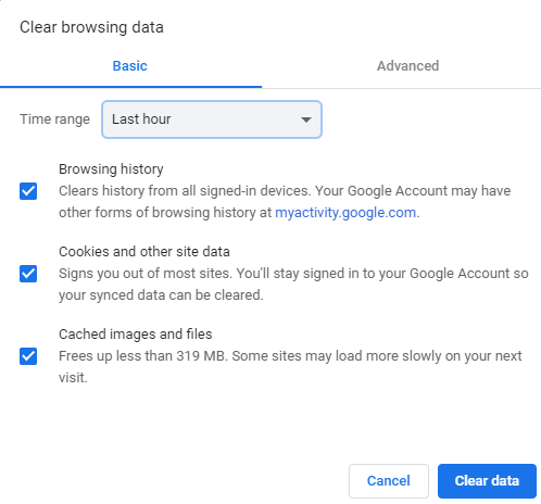 clearbrowserdata