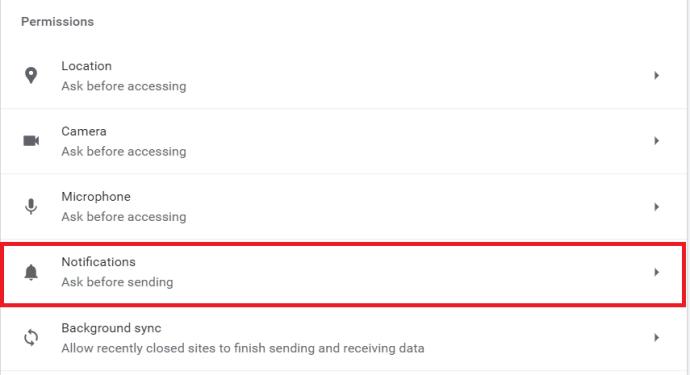 Opciones de Chrome