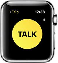 talk button