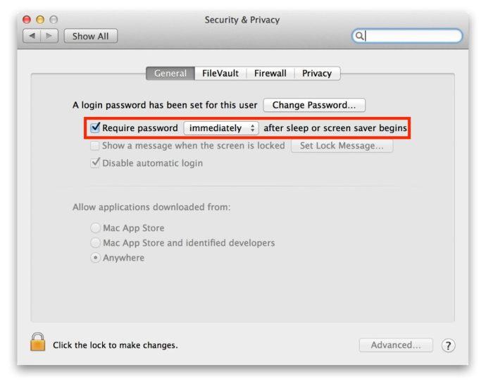 Lock Screen Shortcut Mac