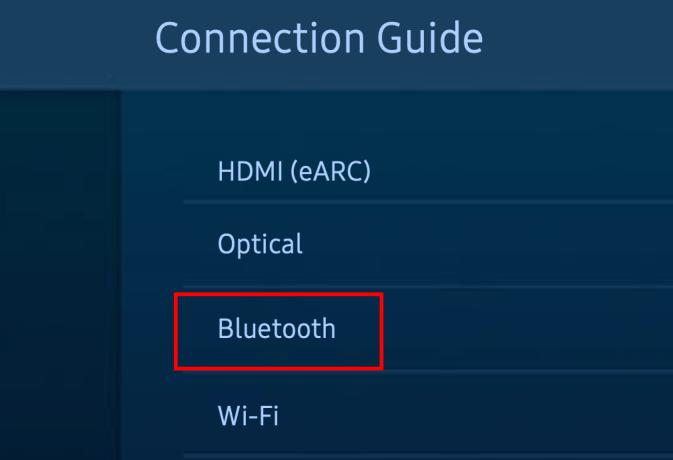 Samsung TV pair Bluetooth devices 03