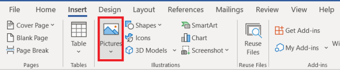 Office Pictures Menu