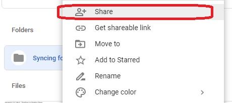 Sincronizar varias cuentas de Google Drive