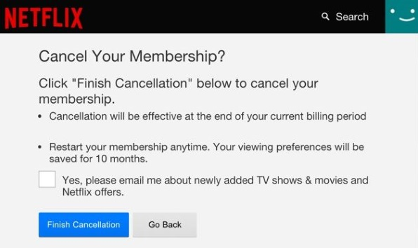 How to cancel your Netflix subscription2