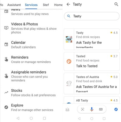 google home add apps