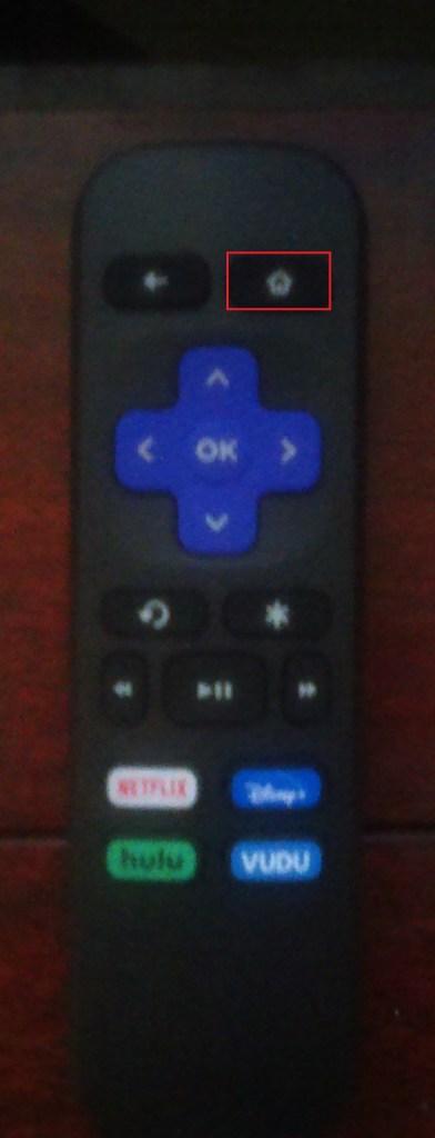 Roku home button